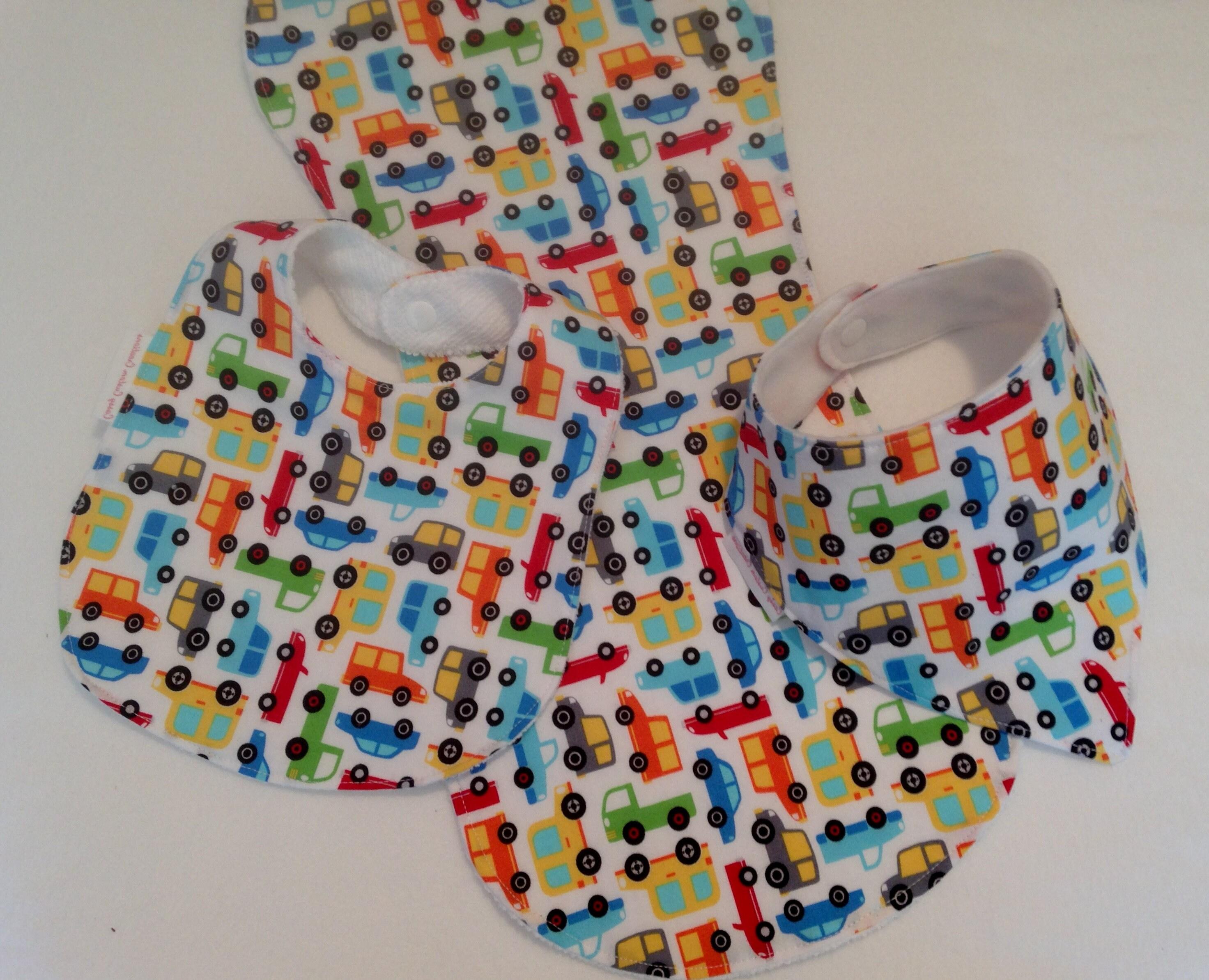 baby boy bib burp cloth gift set cars create your own baby shower gift