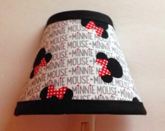 Disney Minnie Mouse Fabric Night Light/Children's Gift