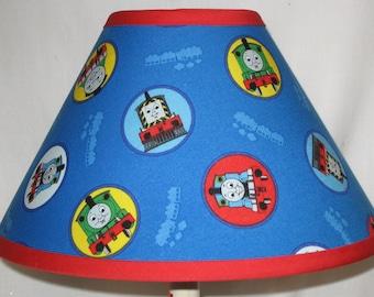 Thomas The Train Children's Fabric Lamp Shade/Children's Gift FREE SHIPPING