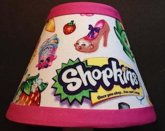 Shopkins Fabric Children's Night Light/Children's Gift FREE SHIPPING