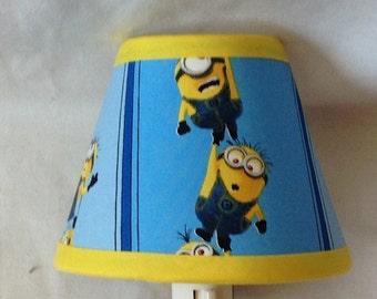 Disney Despicable Me Minion Children's Fabric Night Light/Children's GiftFREE SHIPPING