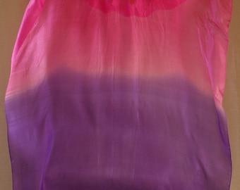 Fan Veil  Set (2fans)-Color: Pink Jewel II-Pink/Violet