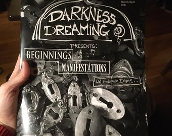 """Darkness Dreaming issue 02 - """"Beginnings, Manifestations, and Garbanzo Beans"""""""