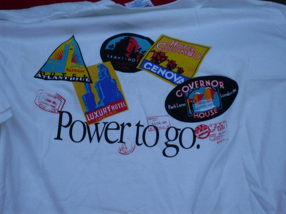 Rare Vintage Apple T-shirt - Powerbook