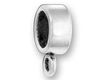 Sterling Silver Charm Holder Charm Bead