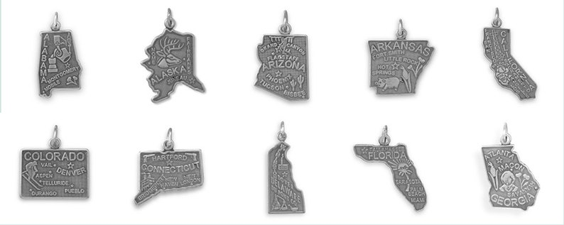 Solid 925 Sterling Silver with Gold-Toned Wichita State U Small Pendant with Necklace 17mm