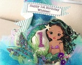 Mermaid Party Hat, Under the Sea Party Hat
