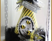 Bumblebee Birthday Party Hat