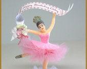 Vintage Pink Ballerina Ca...