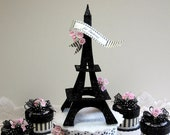 Eiffel Tower Cake Topper,...
