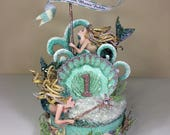 Custom Mermaid 1st Birthd...