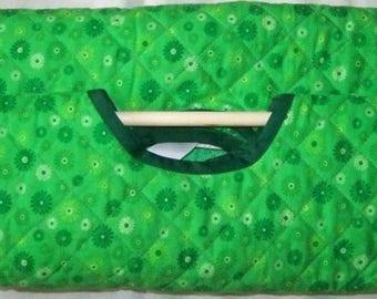 Casserole in Bright Green