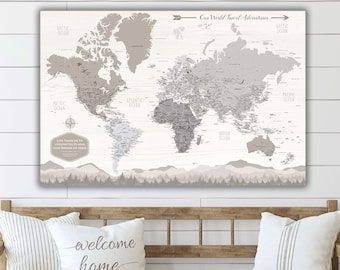 Push pin travel map | Etsy Gray Map Of The World on gray map of france, gray map of iran, gray map of america, gray airplane, gray map of italy, gray map of asia, gray quartz, gray map of mexico, gray lavender, gray map of germany, rejection of the world, gray map of india, gray map russia, gray map usa, gray map of brazil,