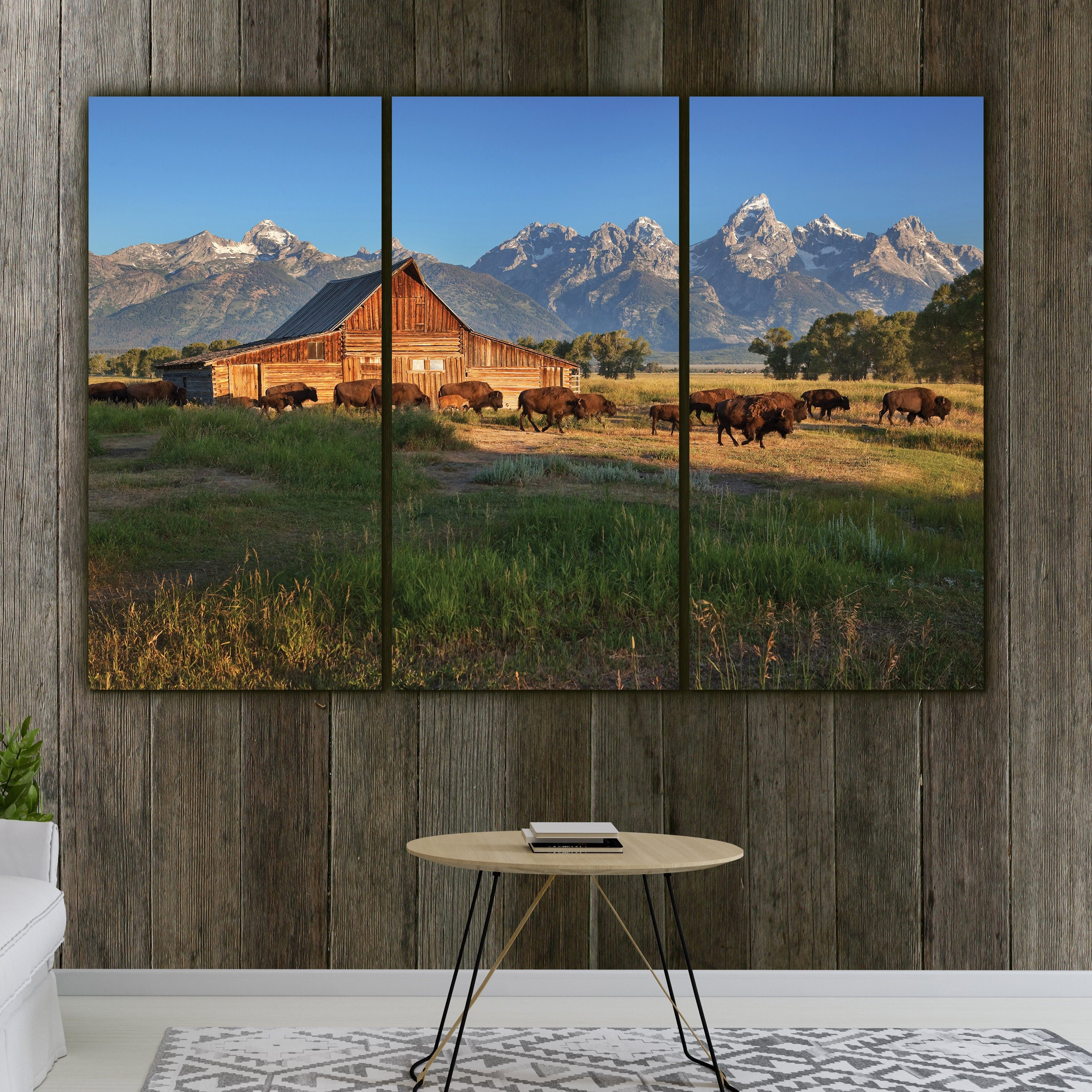 Grand Teton National Park Mountain /& Lake Landscape Scenery Wall Art Print 16x20