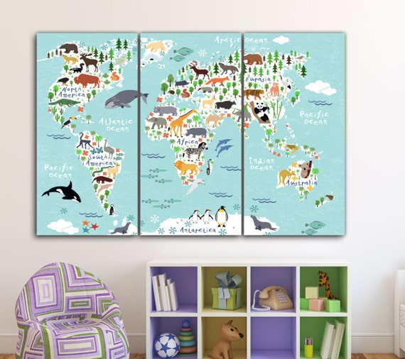 kids world map wall – thediscountperfume.site