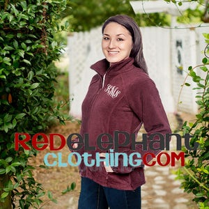 Monogrammed Fleece Jacket Boys and Girls Personalized Jacket for Kids or Adults in Unisex Fit for Men Ladies Monogrammed Full Zip Jacket