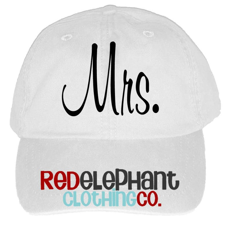 59b0cc800 Bride Hat, Personalized Wedding Cap, Monogrammed Baseball Hat for Ladies,  Personalized Bridesmaid Gift, Baseball Cap for Women, Mrs, Bridal