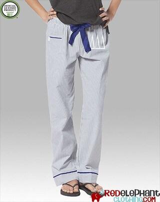 Delta Delta Delta Pajamas, Tri Delta Lounge Pant, Sorority Sleepwear, Sorority Pajama Pant, Greek Pajamas, Tri Delt Pajama Pants, Seersucker