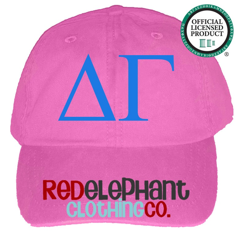 179a78d23 Delta Gamma Hat, Monogrammed Baseball Cap, Personalized Baseball Hat,  Sorority Gift, Embroidered Ball Cap, Monogrammed Baseball Hat