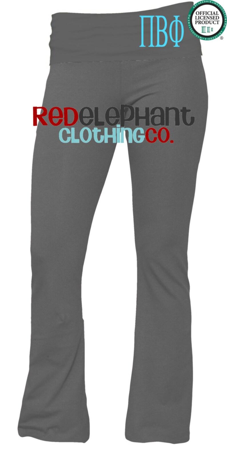 606fbc47fb Pi Beta Phi Yoga Pants Personalized Sorority Gift | Etsy