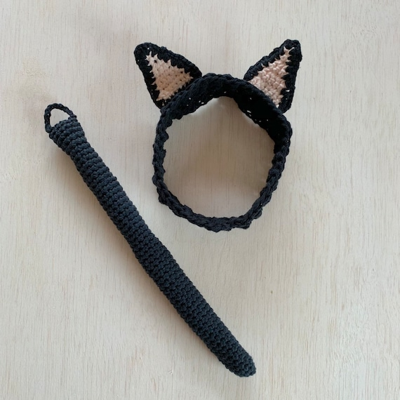 30 minutes Cat ear headband free crochet pattern | jennyandteddy | 570x570