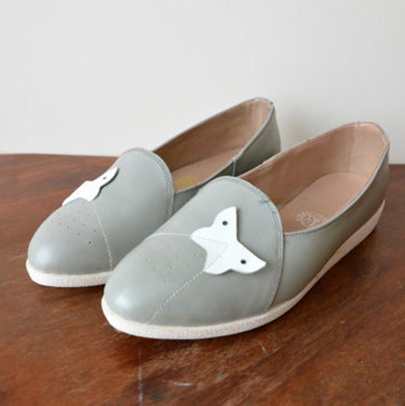 Rare L.L. Suede 7 femmes chaussures Flat Moccasin Loafer