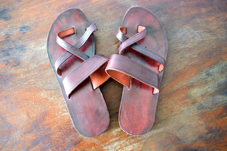 Ecco Shoes | Leather Sandals | Poshmark