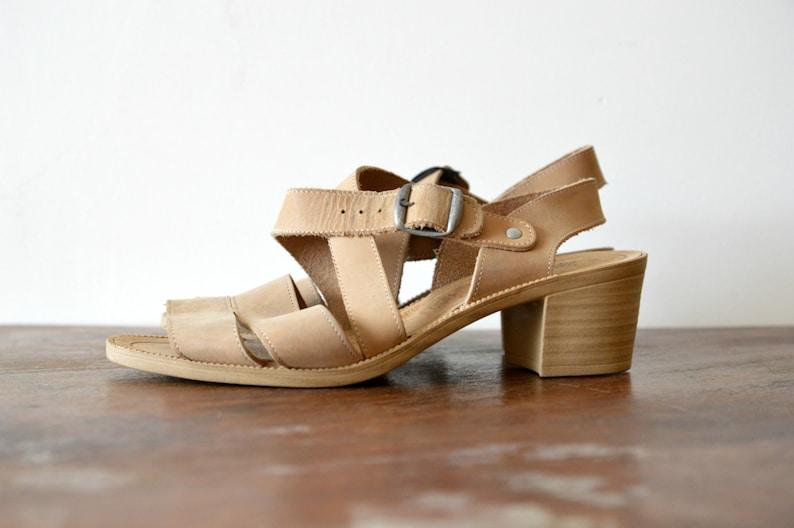 96ec8945225 Zapatos de cuero sandalias tacones correa Multi confort   Etsy