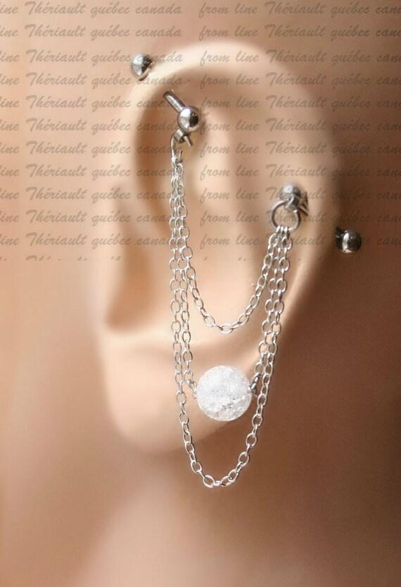 Industrial Barbell Industrial Piercing Jewelry Industrial Etsy