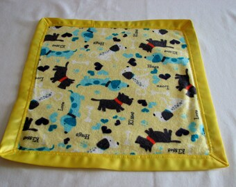 Security Blanket / Lovey - assorted designs - flannel