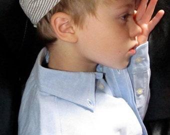 Boys Newsboy Hat; Newsboy Hat for Boys, Driving Cap, Boy Flat Cap Handmade by TwoLCreations