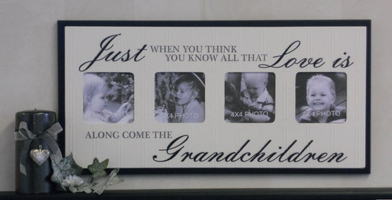Grandparents Gift for Grandma & Grandpa Picture Frame Gifts