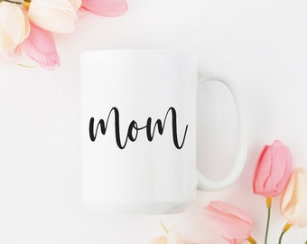 Mom Coffee Mug / Mother's Day Gift / Gift for Mom / Mom Mug / Mom Fuel / New Mom / Baby Shower / Birthday for Mom / Mama Bear / Mom Gift