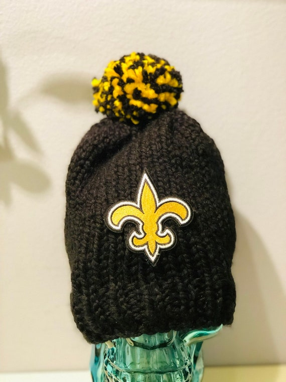 Clearance Who Dat Ready to ship Hand knitted Thick and Warm  65edff396