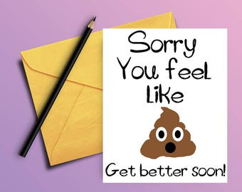 Get Well Cards Etsy