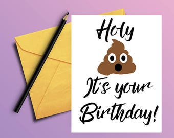 PRINTABLE Funny Best Friend Birthday Card Sarcastic
