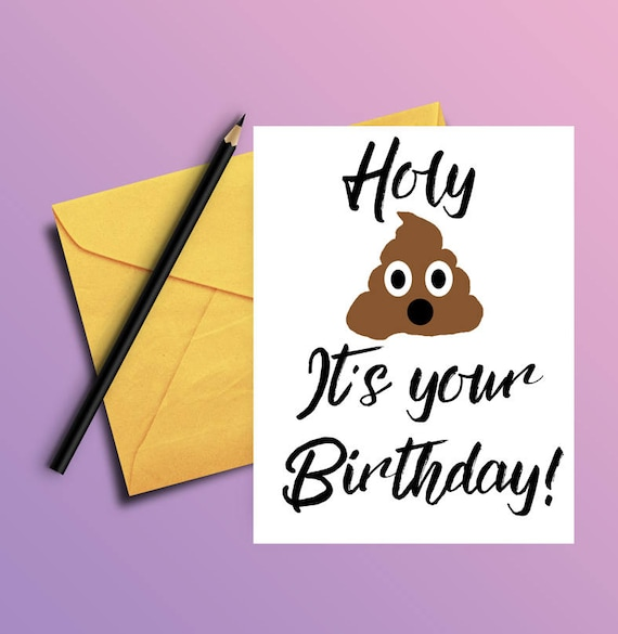 Adult Humor Funny Birthday Card For Him