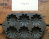 Vintage Small Cast Iron Bundt or Muffin Pan