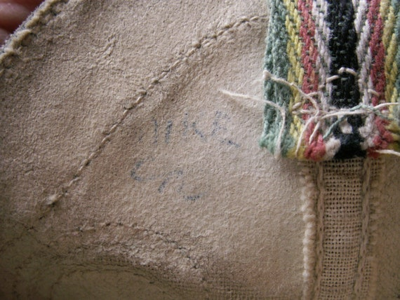 Vintage Kids Cowboy Boots - Black and White Weste… - image 10