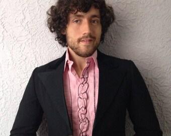 70s Tuxedo Jacket Etsy