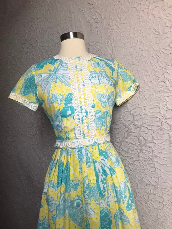 60's Vintage The Lilly/ Lilly Pulitzer Butterfly … - image 5