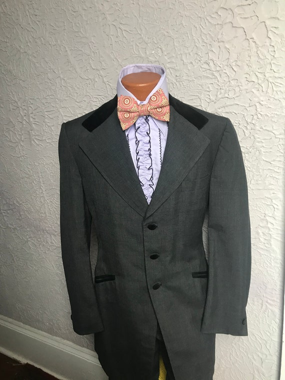 70's Vintage Men's Neo Edwardian Lord West Tuxedo
