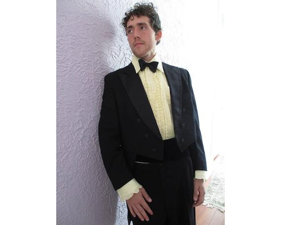 30's Vintage Men's After Six Tuxedo Tailcoat Suit