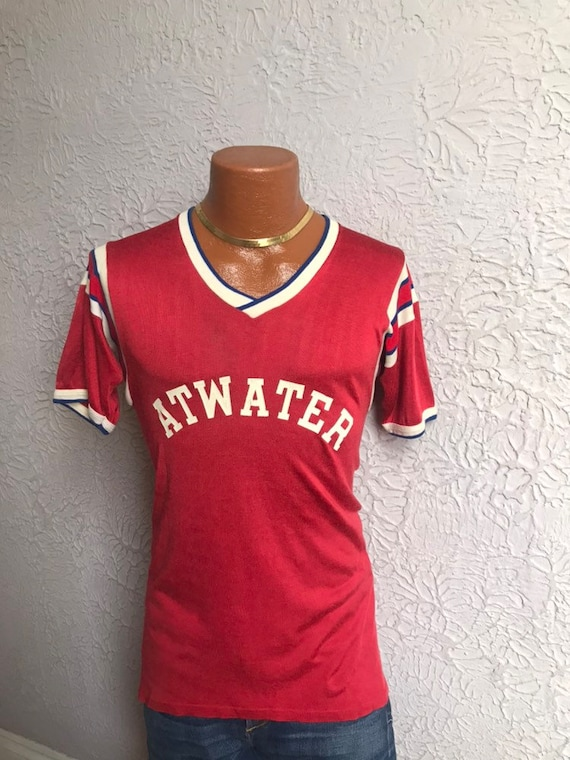 40's/50's Vintage Rayon Sport Jersey Atwater sm/me