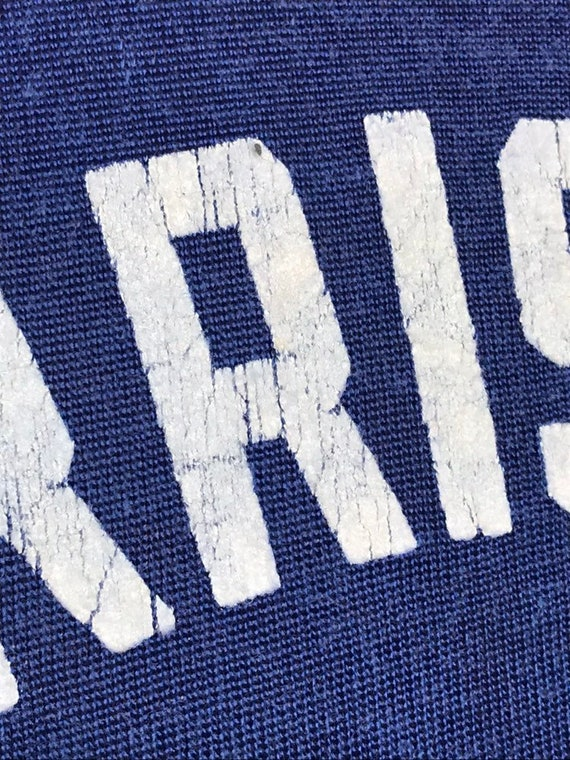 40's/50's Vintage Men's  Rayon Sport Jersey Strip… - image 6