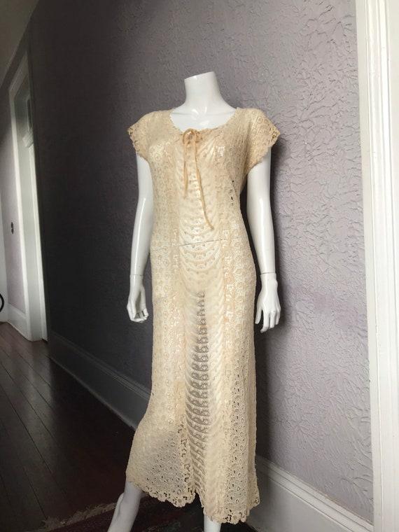 1910 Vintage All Lace Beautiful Dress antique lace