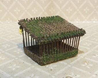 Dollhouse Miniature 1:12th scale Bird Feeder