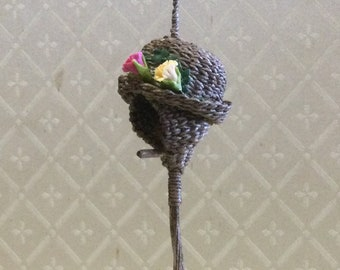 Dollhouse Miniature 1:12th scale Hanging Bird House