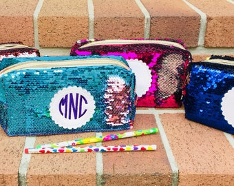 d9c9364c76 Monogrammed Mermaid Pencil Case