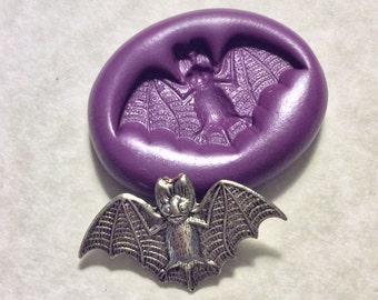 Fancy Bat Wing Photo Frame Bezel Setting Flexible Plastic Mold For Resin Jewelry